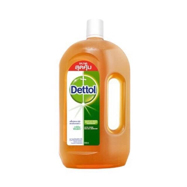 เดทตอล น้ำยาฆ่าเชื้อโรค ใช้กับร่างกาย/ครัวเ