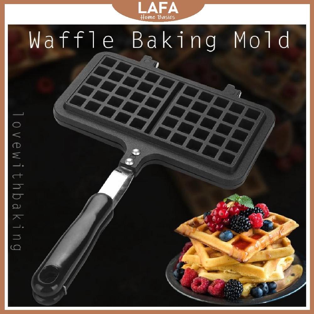 Waffle Pan Non-stick Mold Baking Press Plates Dessert Maker Mould Baking Square