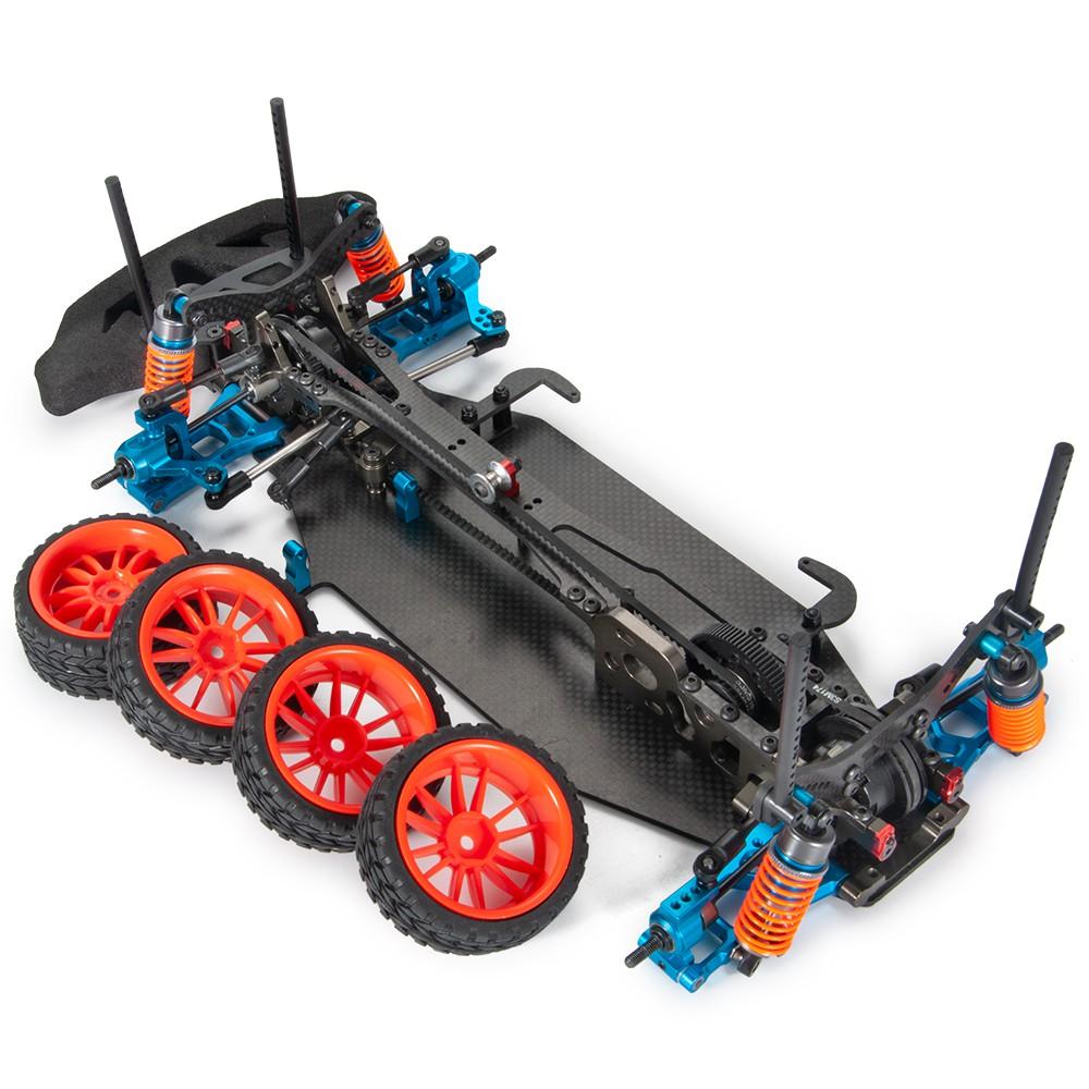 Yeah Racing Aluminum M3 Flat Washer 0.5mm 20pcs Black 1:10 RC Car #YA-0392BK