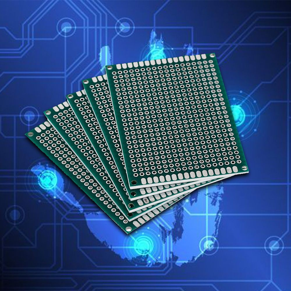10pcs 4x6cm Double Side Prototype Pcb Universal Printed Circuit Board Artwork Stripboard And Breadboard Layout Te254 Shopee Malaysia
