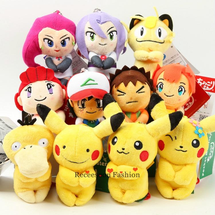 "New 9.5/"" Pokemon Pikachu With X Charizard hat Plush Soft Toy Stuffed Animal Doll"
