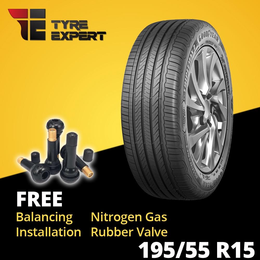 195 55r15 Goodyear Assurance Triplemax 2 Installation Iriz Tyre Tayar Shopee Malaysia