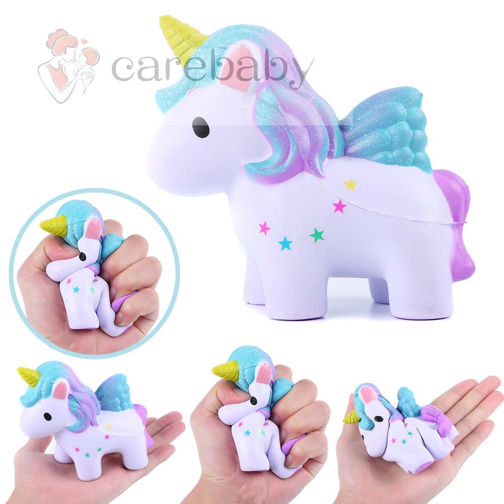 Stress Reliever Toy Cute Slow Rising Cute Colored Horse