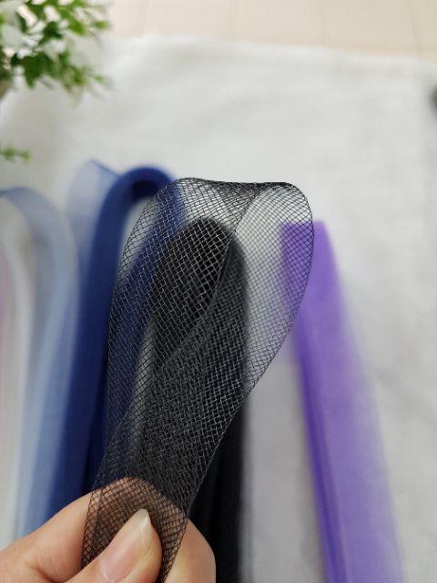 👰 Horse Hair 2.2cm untuk Veil / Wedding Gown / Baju Pengantin (1 meter ) 🤩👰