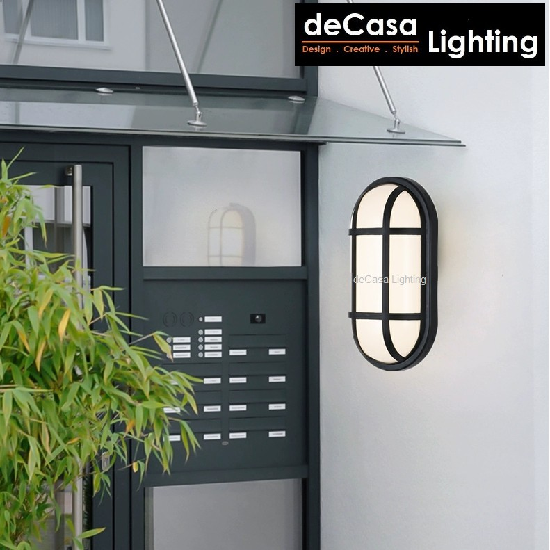 Outdoor Led Ceiling Light / Outdoor Wall Light DECASA LIGHTING 10W Outdoor Lighting Modern Style Lampu Dinding (W1708)