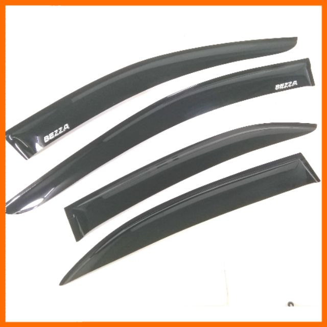 "Perodua Bezza Door Visor Air Press Windscreen 4"" Inch"