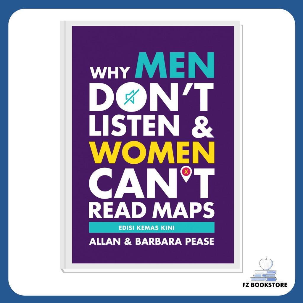 Why Men Don't Listen & Women Can't Read Maps - Edisi Bahasa Melayu - Lelaki Wanita Jantina Hubungan Cinta Perkahwinan