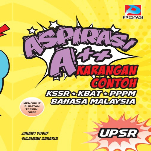 Aspirasi A++ Karangan Contoh Buku Rujukan UPSR Bahasa Malaysia Sukatan Terkini Darjah 6 (Ready Stock)