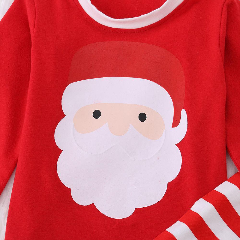 Mylilangelz KC2344 Cikicoko Santa Red Stripes Sleepwear (READY STOCK)