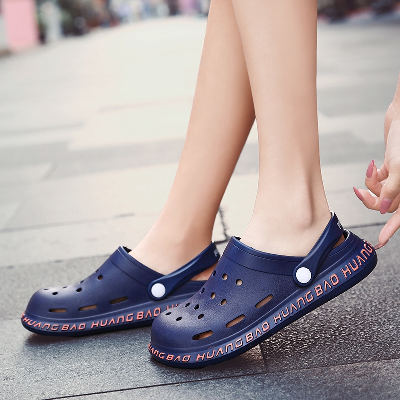 Go get it now Summer Rome Slip-On Breathable Non-Slip Shoes Woman Slides Solid Casual Female