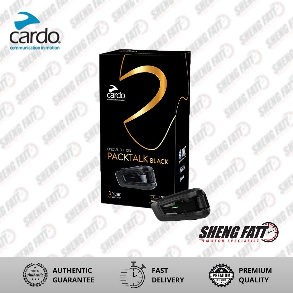 Cardo Packtalk Black Special Edition