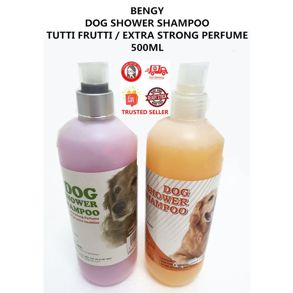 BENGY DOG SHOWER SHAMPOO TUTTI FRUTTI / EXTRA STRONG PERFUME 500ML
