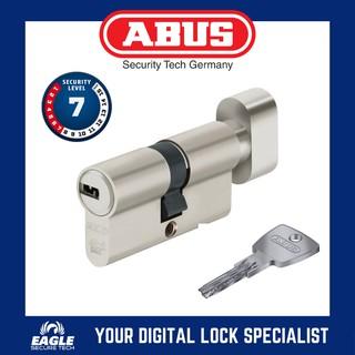 ABUS ec550 eck550 CYLINDERS CYLINDER z35//k40mm with 3 to 10 Keys