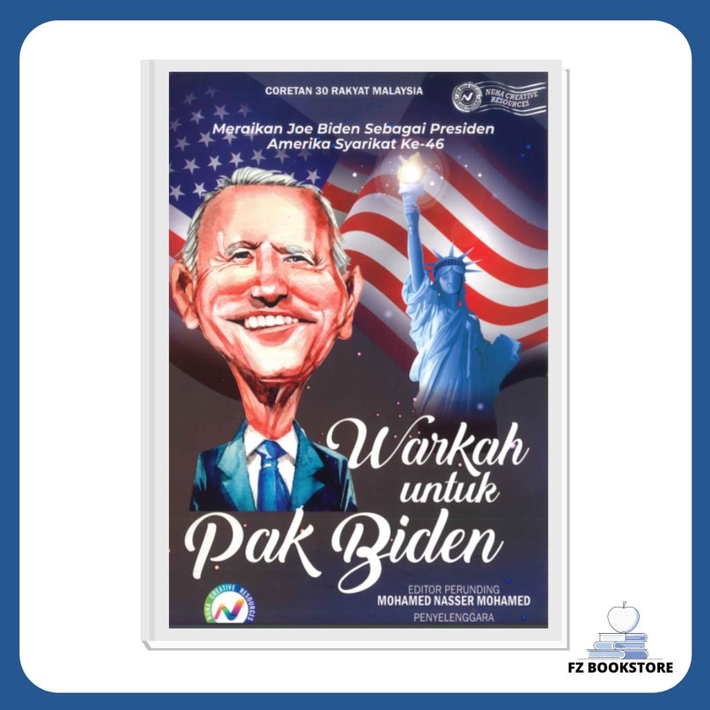 Warkah untuk Pak Biden - Meraikan Joe Biden Sebagai Presiden Amerika Syarikat Ke-46 - Nuha Books - Politik
