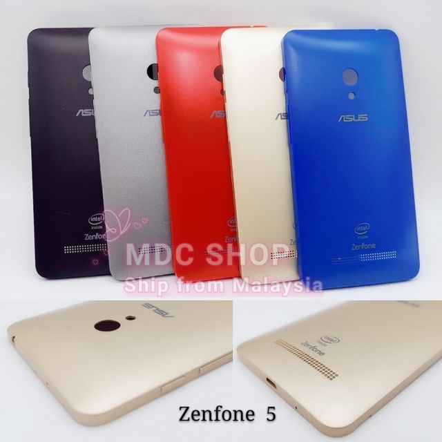 Asus Zenfone 5 T00J A500CG T00F battery cover with power & volume switch