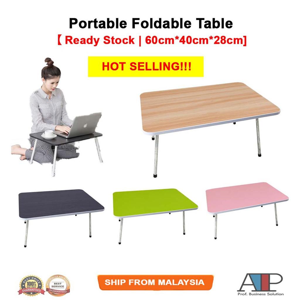 Stupendous Portable Folding Table Laptop Desk Foldable Meja Alphanode Cool Chair Designs And Ideas Alphanodeonline