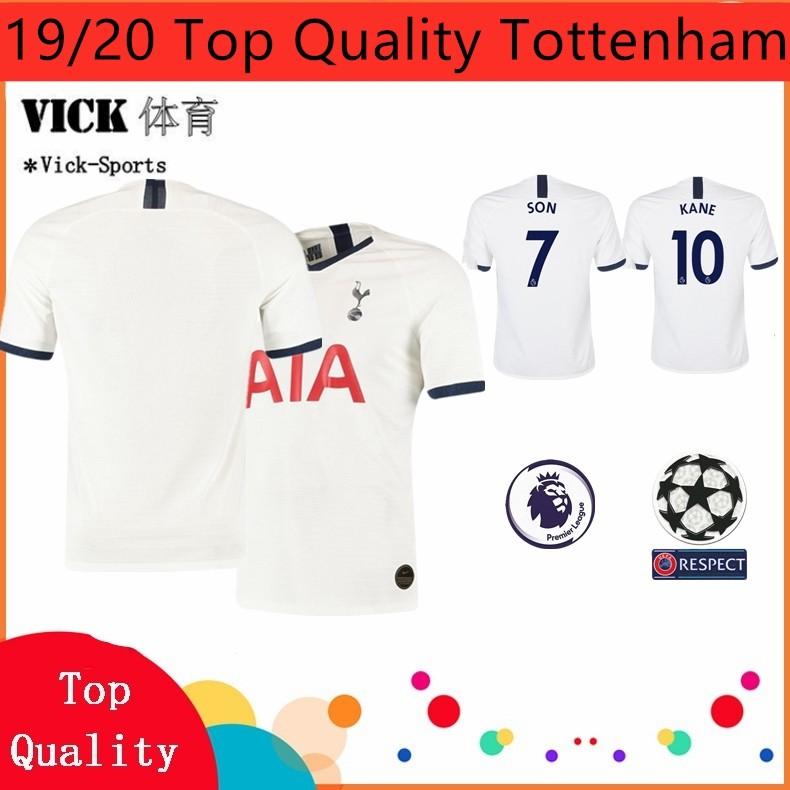 19 20 Top Quality Jersey Tottenham Home Away 3rd Jersi Training Wear Shirt Football Jersi Shopee Malaysia