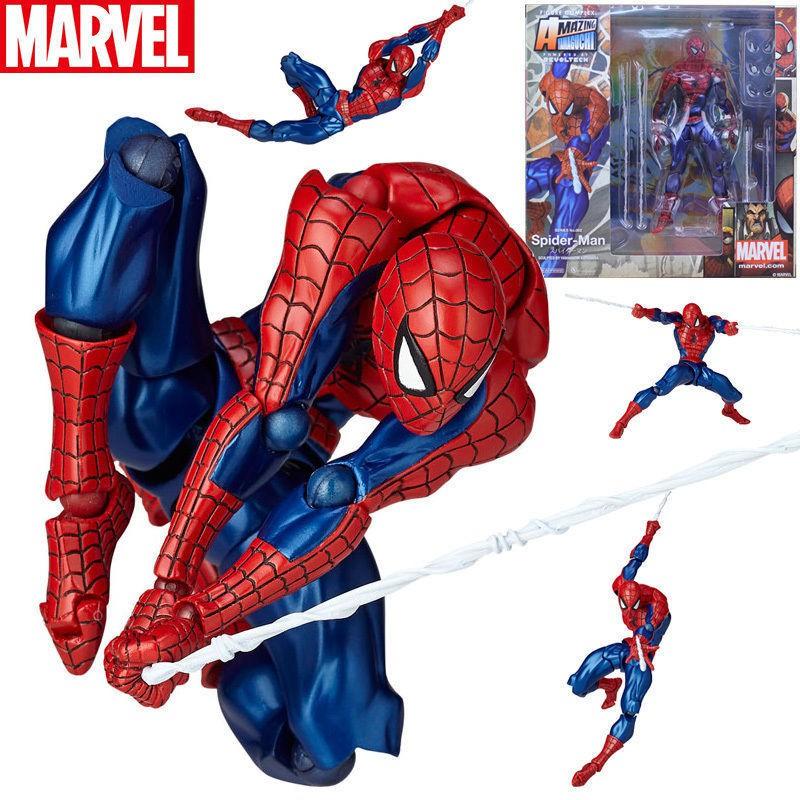 Spider-Man CARNAGE No.008 Figure Yamaguchi Katsuhisa Revoltech Kaiyodo toy