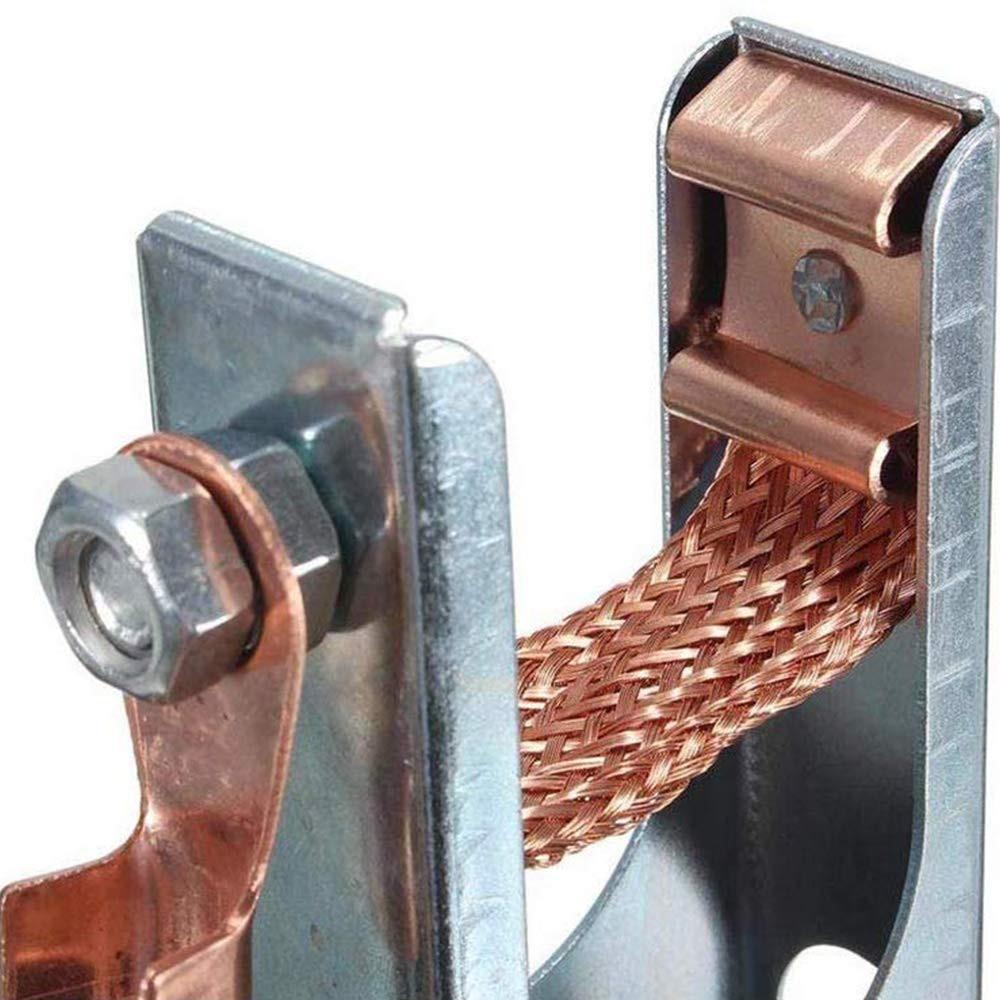 Arc Welding Ground Clamp MIG TIG Plasma cutter Clip Clamp 16Feet /& 5M 300Amp