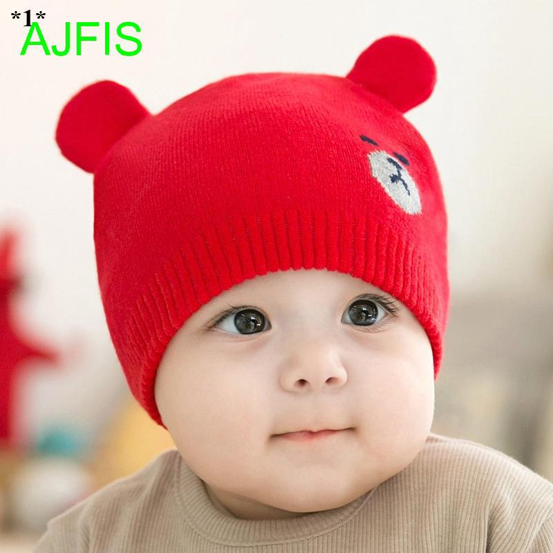 a5b4927ee 0-5 Years baby hats Kids Beanie Cap Soft Infant Knitted hat baby ...