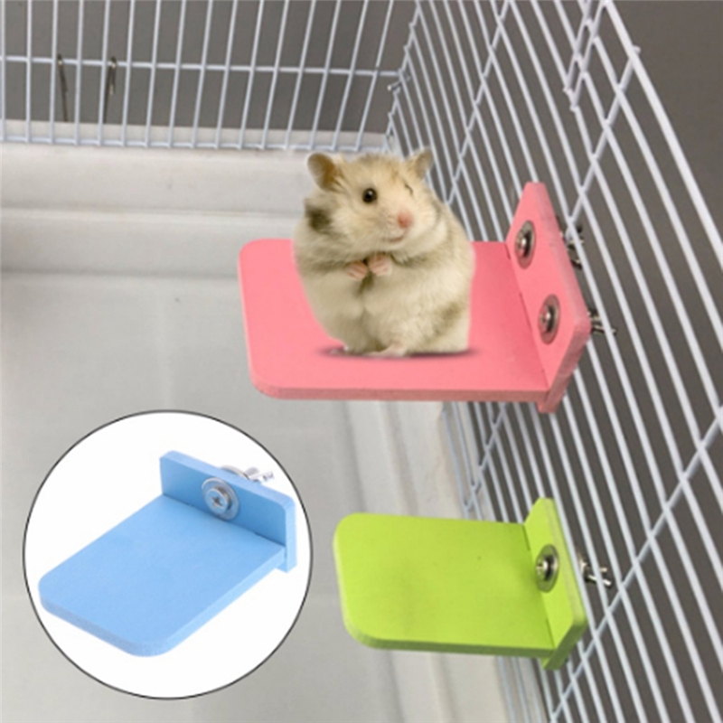Pet Supplies Hamster Jumping Platform /Wood Squirrel Springboard Toy