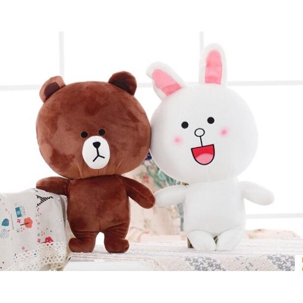 LINE App Mr. Brown Bear - Soft Plush Toy