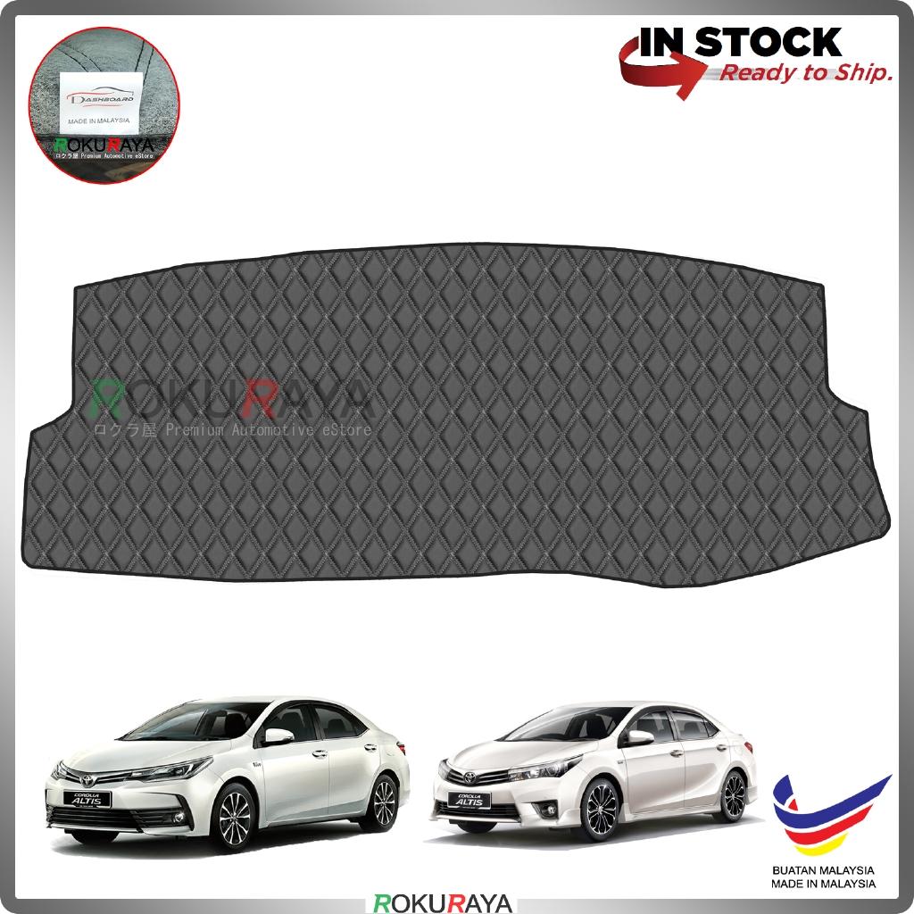 Toyota Corolla Altis E160 E170 (11th Gen) 2014-2019 RR Malaysia Custom Fit Dashboard Cover (BLACK LINE)