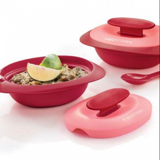 Royal Red Sambal Dish With Spoon