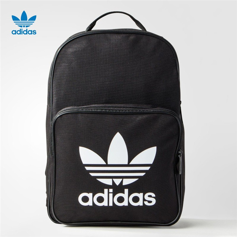 89f8cd8ddb Ready Stock Original Adidas Leather Laptop Travel School Backpack Bag   44x30x11