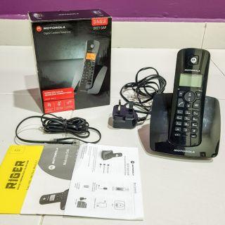 motorola digital cordless phone c401a shopee malaysia rh shopee com my motorola cordless phone c401p user manual