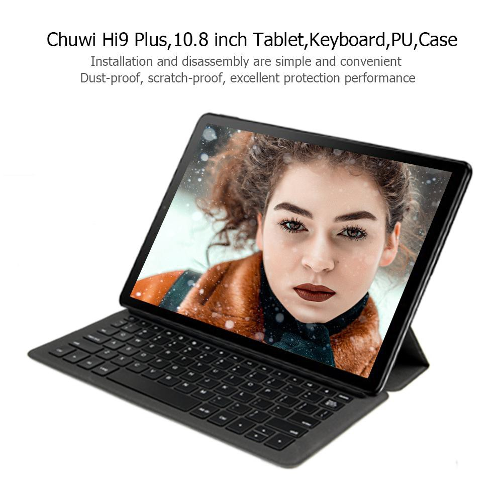 [IN STOCK/COD] Chuwi Hi9 Plus 10 8 inch Tablet PC Magnetic Keyboard PU  Leather Case Cover