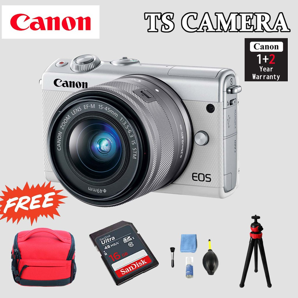 CANON EOS M100 KIT LENS 15-45MM (OFFICIAL CANON MALAYSIA)