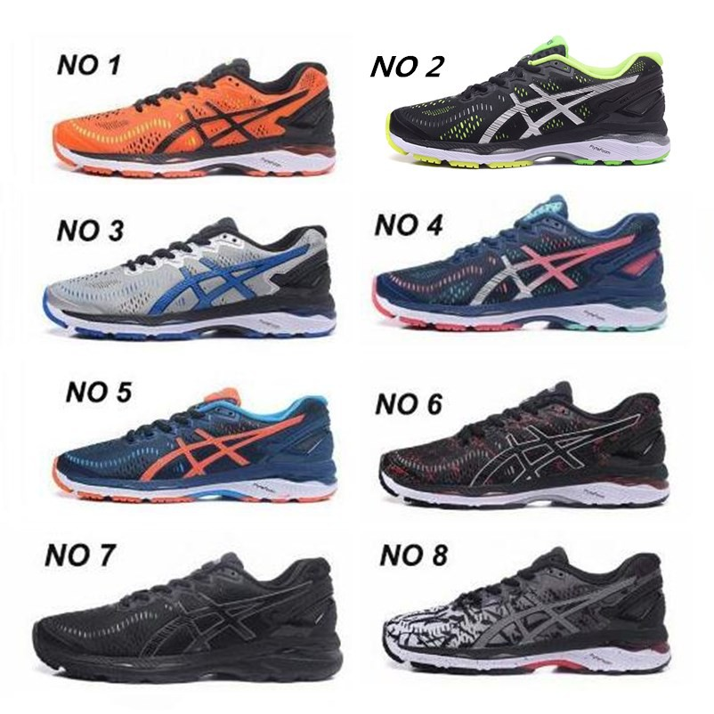 Original Asics GEL KAYANO 23 Men Shoes Sport Running Shoes Buffer Sneakers