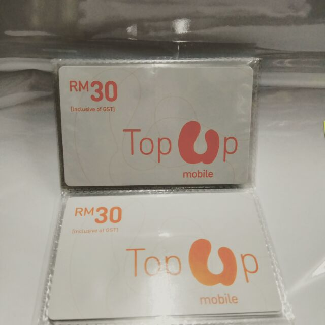 Umobile Rm30 Topup Top Up Card Kad Tambah Nilai Shopee Malaysia