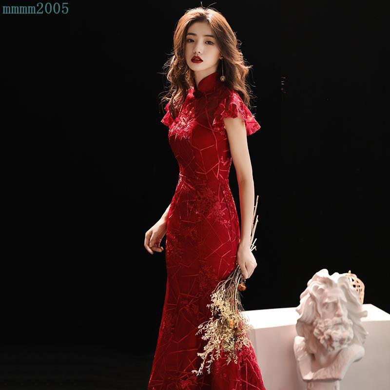 bd8a3b566 Photo studio theme costume Cheongsam long stage show performance Slim  Chinese st | Shopee Malaysia