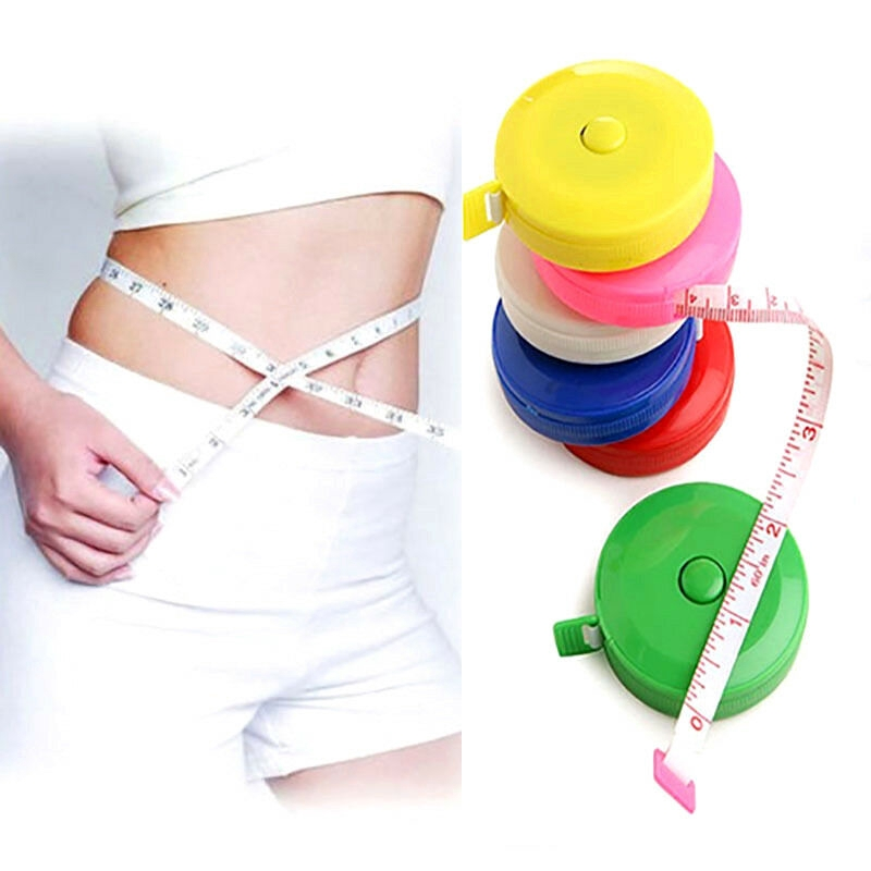 """1//3//5//10X Body Measuring Ruler Sewing Cloth Tailor Tape Measure Soft 60/"""" //150cm"""