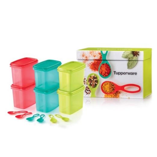 Tupperware Shelf Savers with Spoon 840ml