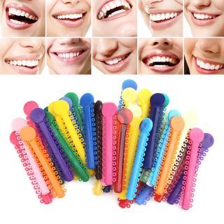 Ready 40pcs Multi Color Dental Orthodontic Ligature Rubber