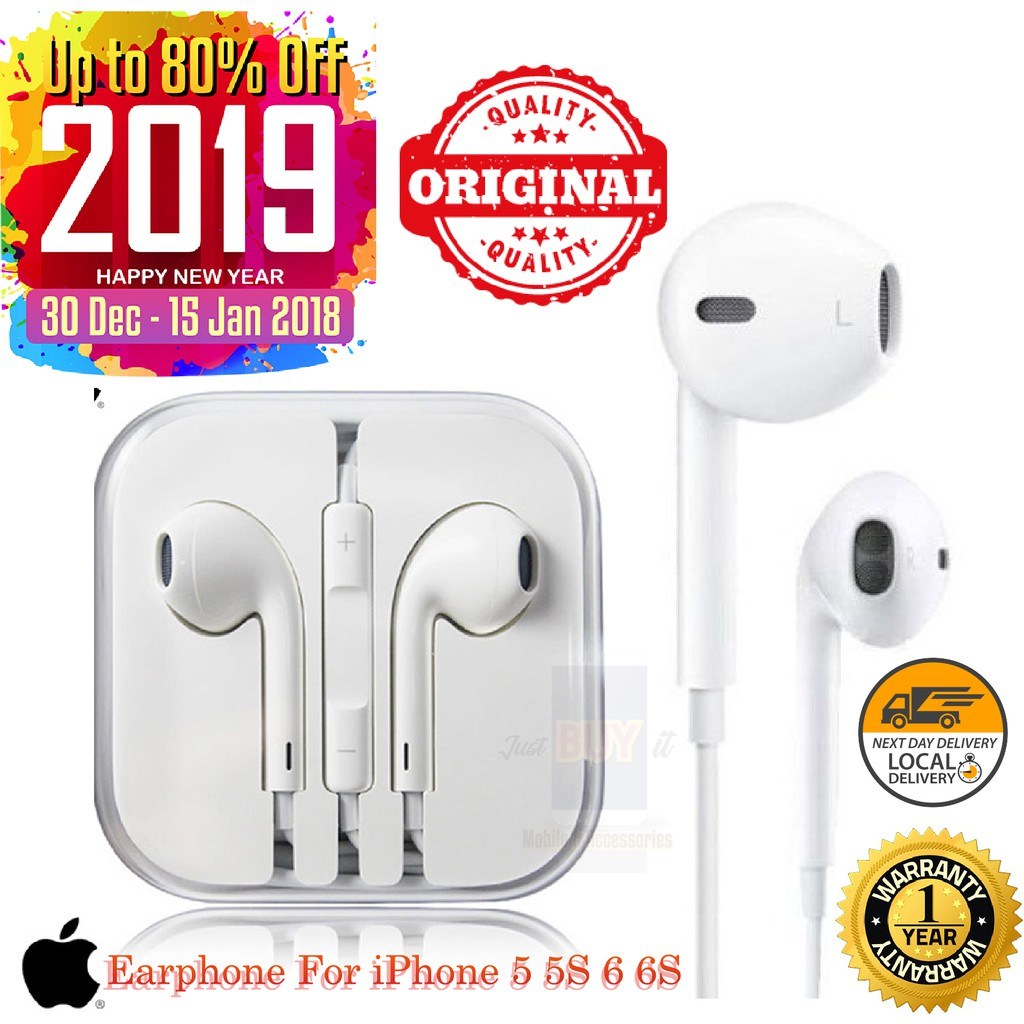 e3a8987a6fa Earpod Plug iPhone Apple | Shopee Malaysia