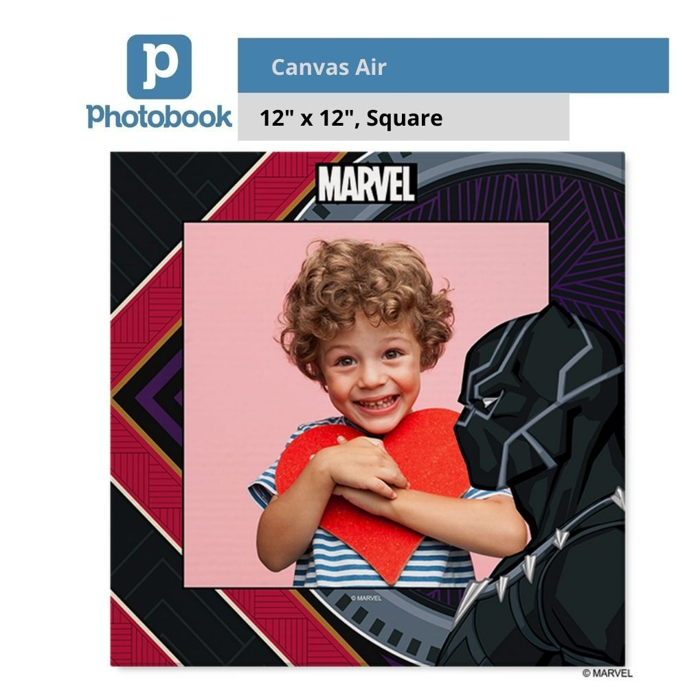 "Photobook Malaysia Square Canvas Air (12"" x 12"")"