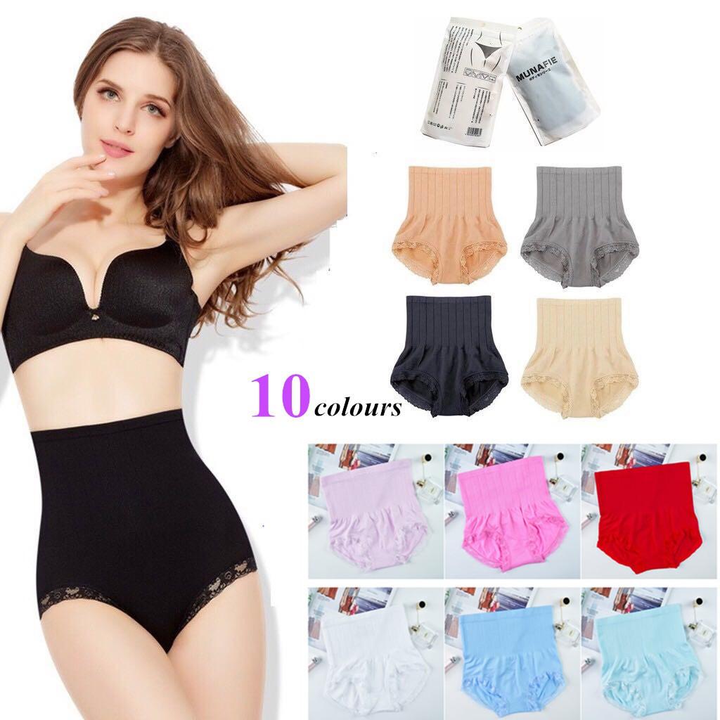 Womens Medium Control Bodyshaper Pants Knickers Shapewear Briefs Size 10-24