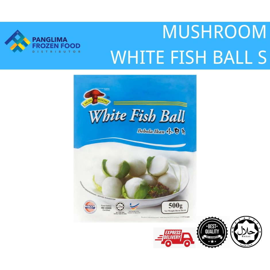 MUSHROOM WHITE FISH BALL S [KLANG VALLEY ONLY]