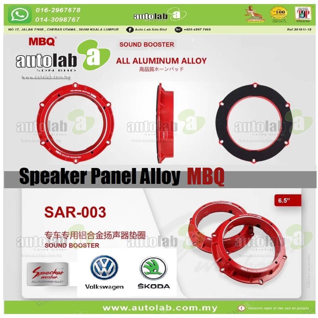 """Speaker Panel Alloy Sound Booster MBQ 6.5"""" Volkswagen/Skoda SAR-003"""