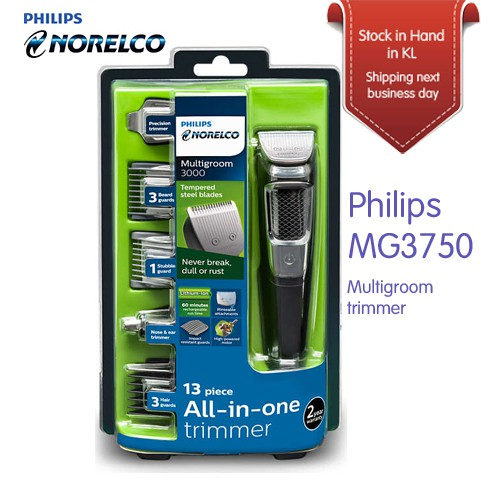 Philips Norelco Multigroom MG3750 Multipurpose trimmer for Men [From USA]