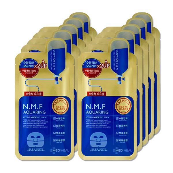 Mediheal NMF Aquaring Hydro Nude Gel Mask Box 10 Sheets