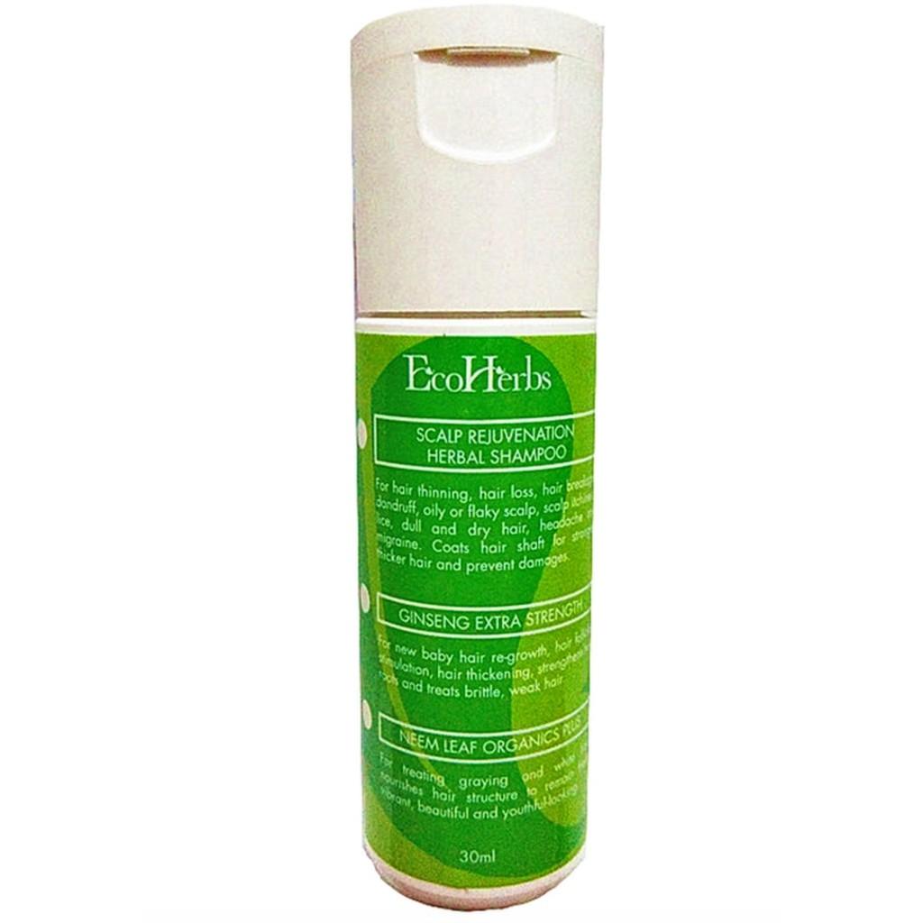 Ecoherbs Trial Scalp Shampoo Stop Hair Loss, Dandruff, Oily, Help Hair Regrowth
