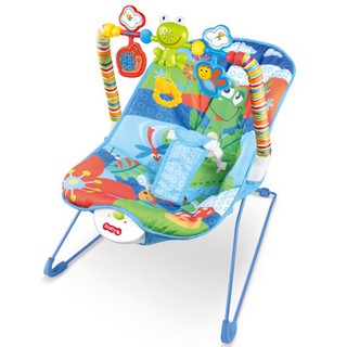Ibaby Rocker Bouncer Basic New Born Toddler Music Electric Vibrating Baby Chair Blue Green Pink Shopee Malaysia