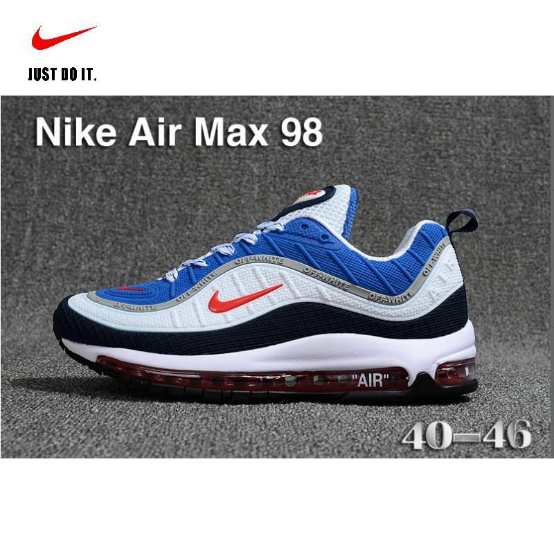 promo code 7d635 474db Nike Air Max 98 Men's Retro 4 Colors Cushion Sport Running