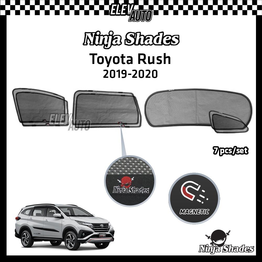 Toyota Rush 2019-2021 Ninja Shades OEM Magnetic Sunshade