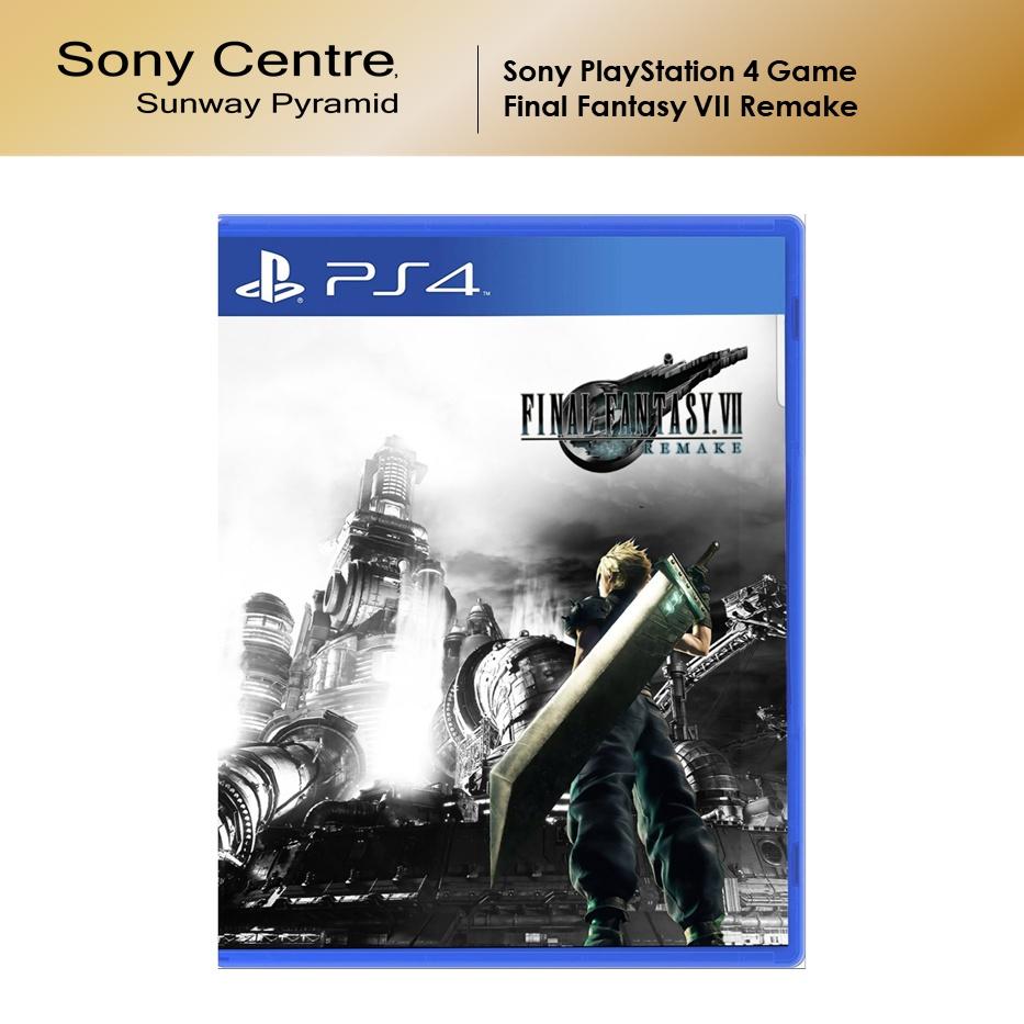 Sony PS4 Game FINAL FANTASY VII REMAKE FINAL FANTASY 7